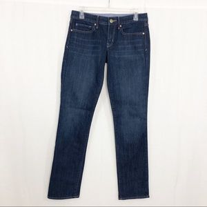 GAP 1969 Straight Leg Jeans, Size 6, Dark Wash